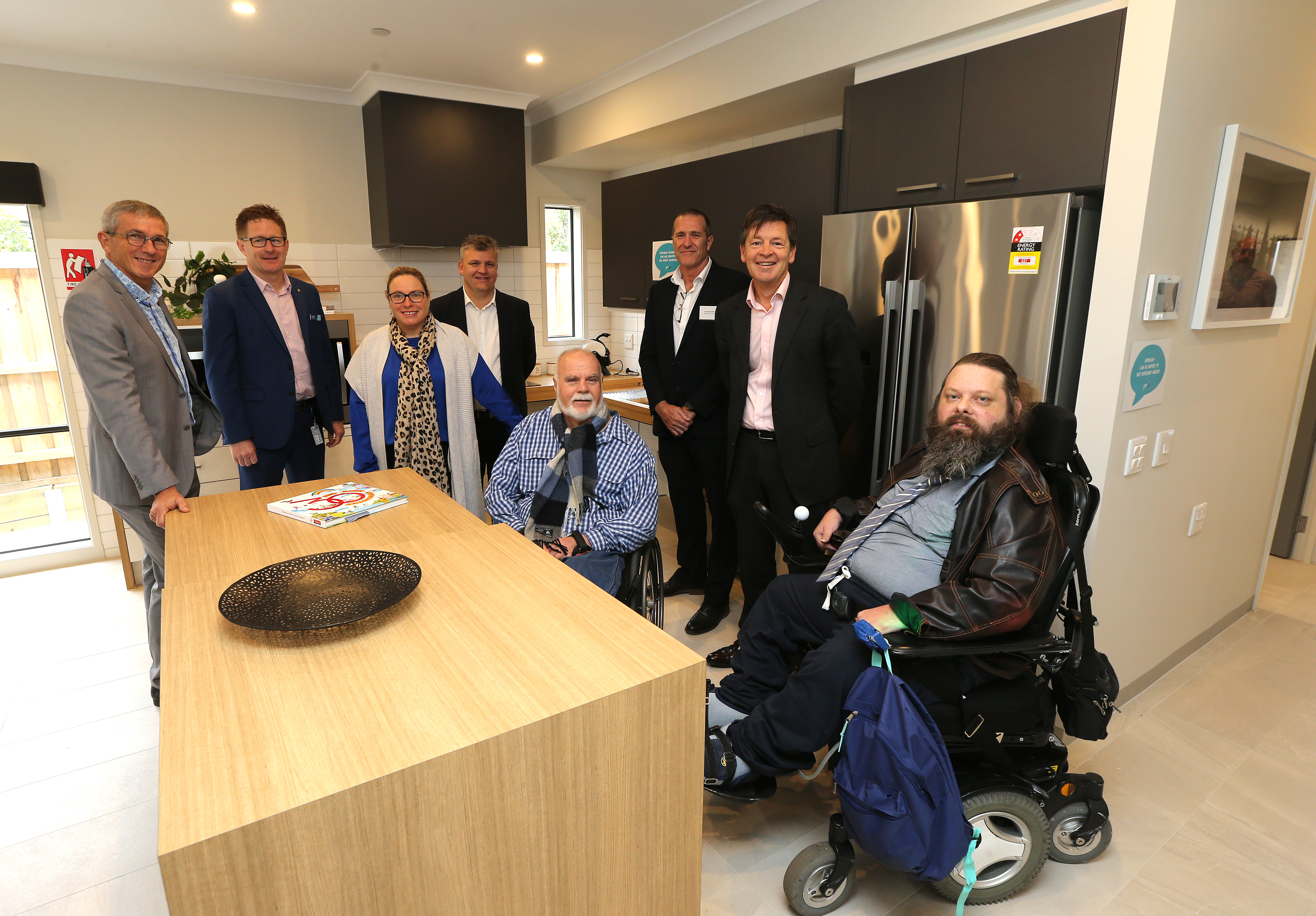 Launch of all abilities showcase home